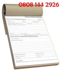 2 part ncr book printing