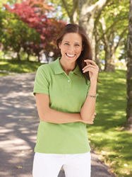 Gildan - 100% Cotton Ladies Combed Ring Spun Premium Polo Shirt