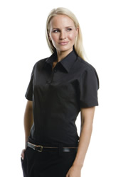 Kustom Kit - Ladies Continental Short Sleeve Blouse