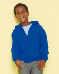 Gildan Heavy Blend Children's Full Zip Hooded Sweat Shirt
