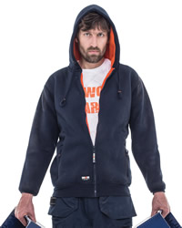 Herock Workwear - Odysseus Mens Hooded Sweat Shirt