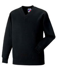 Jerzees Schoolgear V-Neck Sweatshirt