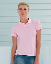 Russell Polo Shirts Ladies Pima Cotton Polo Shirt