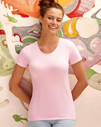 Fruit Of The Loom Lady-Fit Crew Neck T-Shirt