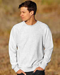 Fruit Of The Loom - Mens Lightweight Raglan Sweat Shirt