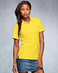 ANVIL Polo Shirts Anvil Ladies Double Pique Polo Shirt