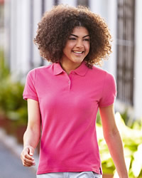 Fruit Of The Loom Polo Shirts Lady-Fit Premium Polo Shirt