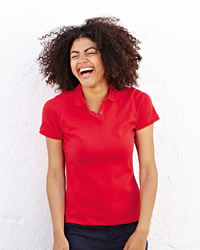 Fruit Of The Loom Polo Shirts Lady-Fit 65/35 Polo Shirt