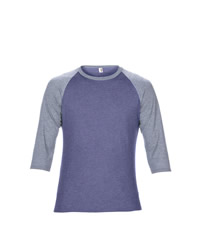 Anvil Adult Tri-Blend Three Quarter Sleeve Raglan