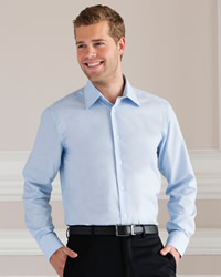 Russell - Mens Long Sleeve Easy Care Tailored Oxford Shirt