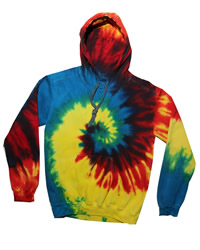 Tie Dye TDUK Tie Dye Hooded Sweat Shirt
