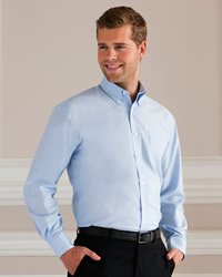 Russell - Mens Long Sleeve Easy Care Oxford Shirt