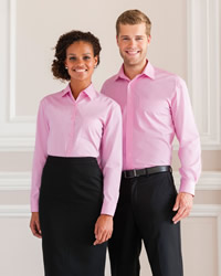 Russell - Jerzees Lady L/Sleeve Pure Cotton Shirt