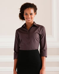 Russell - Ladies 3/4 Sleeve Easy Care Fitted Shirt