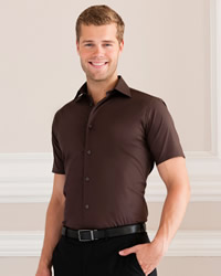 Russell - Mens Short Sleeve Easy Care Fitted Shirt