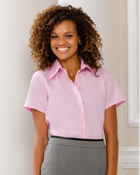Russell - Ladies Short Sleeve Ultimate Non Iron Shirt