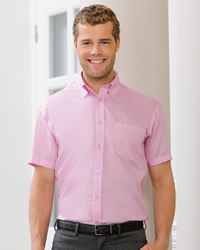 Russell - Mens Short Sleeve Ultimate Non Iron Shirt