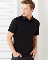 Canvas 5 Button Polo Shirt