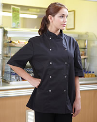 Dennys - Economy Long Sleeve Chef's Jacket