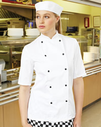 Dennys - Lightweight Long Sleeve Chefs Jacket