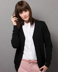 Kustom Kit - Ladies V Neck Cardigan