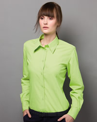 Kustom Kit - Ladies Long Sleeve Workforce Shirt
