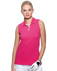 Gamegear - Ladies Proactive Sleeveless Polo Shirt