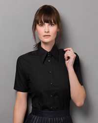 Kustom Kit - Ladies Short Sleeve Business Shirt