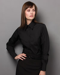 Kustom Kit - Ladies Long Sleeve Business Shirt
