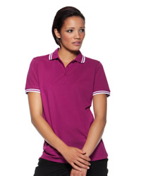 Kustom Kit - Ladies Tipped Collar Polo Shirt