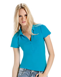 B&C - womens Love Spice Polo Shirt