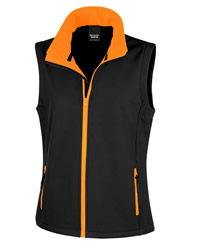 Result Core Lady Printable Soft Shell Body Warmer