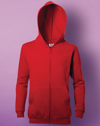 Kid's Full Zip Hooded Sweat Shirt
