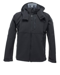 SG Mens Hooded Contrast Softshell Jacket