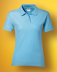 SG Polo Shirts Ladies Polycotton Polo Shirt
