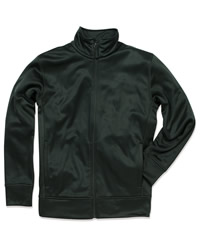 Active Mens Bonded Fleece Jacket